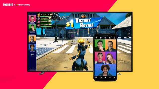 Appels vidéo Fortnite PS5 PC et PS4