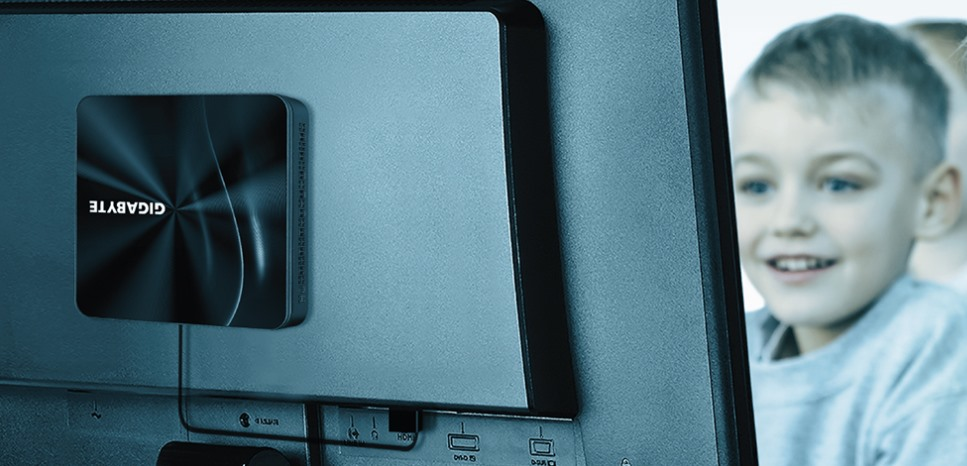 Mini PC VESA Gigabyte Brix S