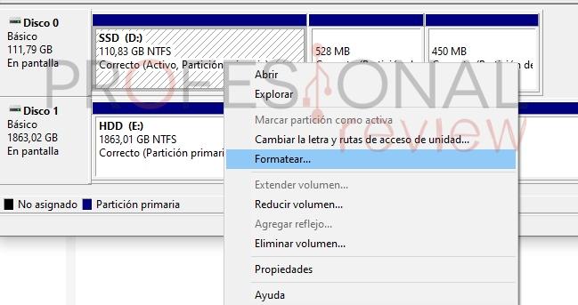 formater un disque dur solide