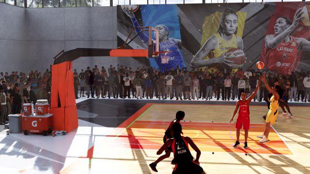 WNBA NBA 2K21