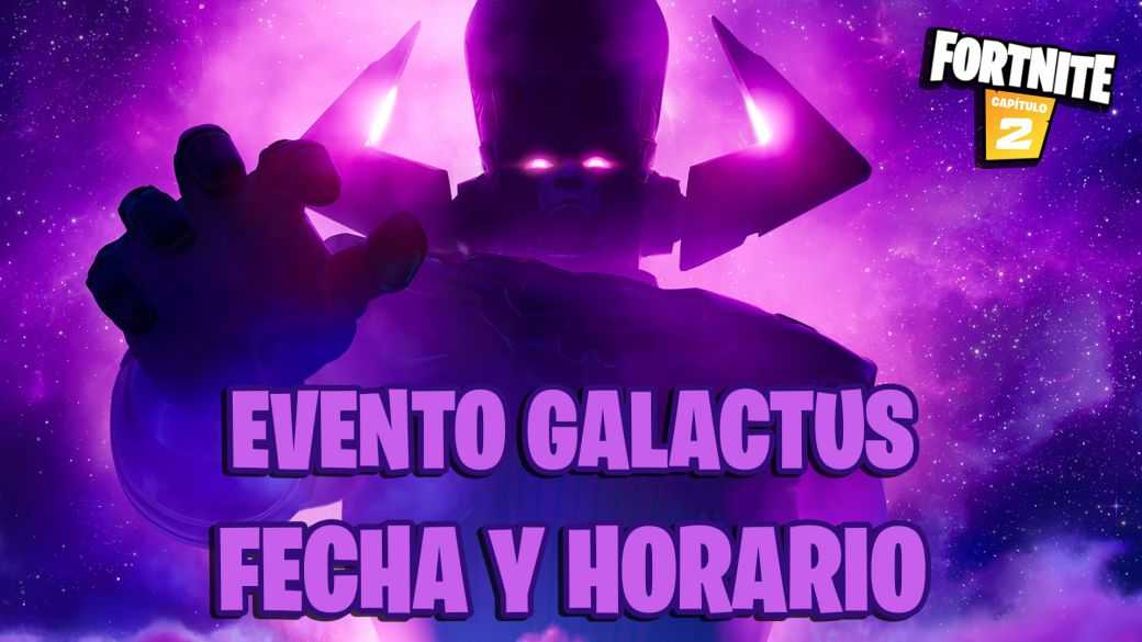 fortnite capitulo 2 temporada 4 evento final galactus fecha hora