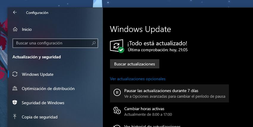 Vérifiez Windows Update pour les mises à jour