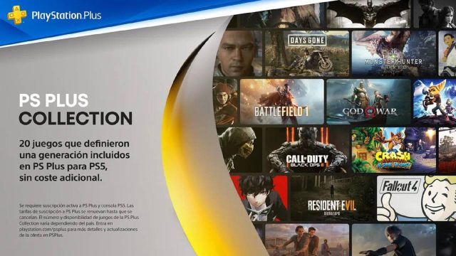 Collection PS Plus