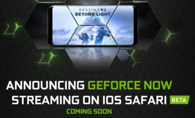 NVIDIA GeForce NOW iOS Safari