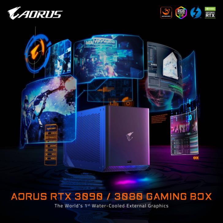 Boîte de jeu AORUS RTX 3090 3080