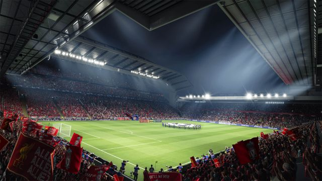 Scène d'introduction FIFA 21 PS5 Xbox Series X This is Anfield