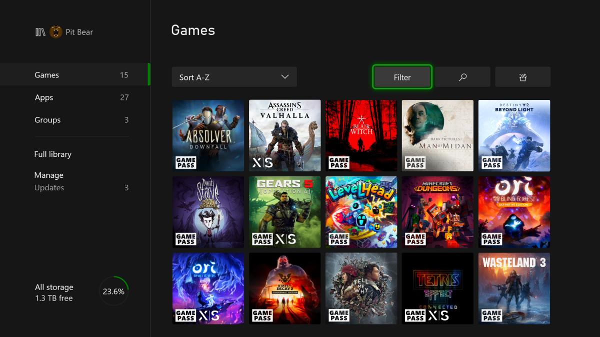 Nouvelles marques pour Xbox Series X | S