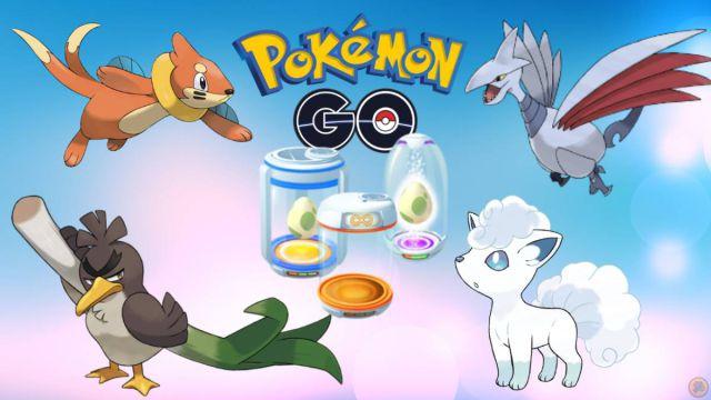 Pokémon GO: tous les œufs de 2, 5, 7, 10 et 12 km (novembre 2020)