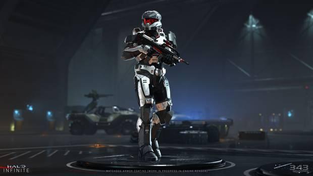 Nouveau skin de spartiate dans Halo Infinite