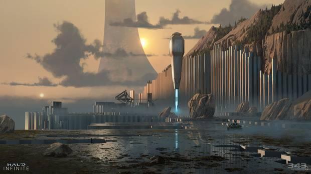 Art conceptuel Halo Infinite