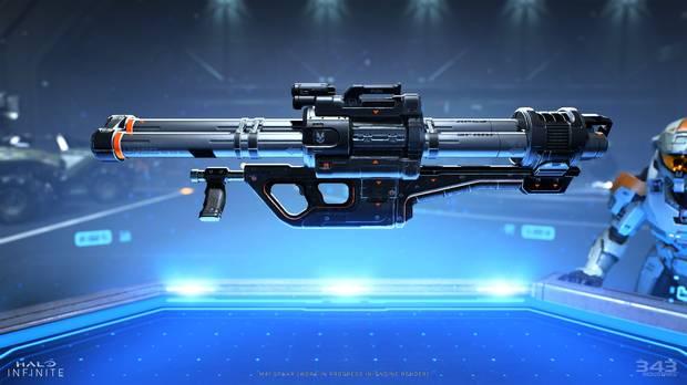 Nouveau skin d'arme dans Halo Infinite