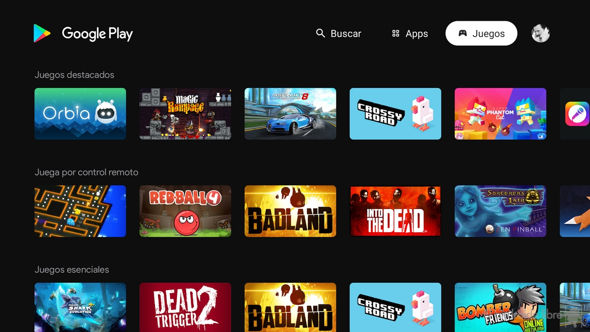 Le Google Play Store change son interface sur Android TV