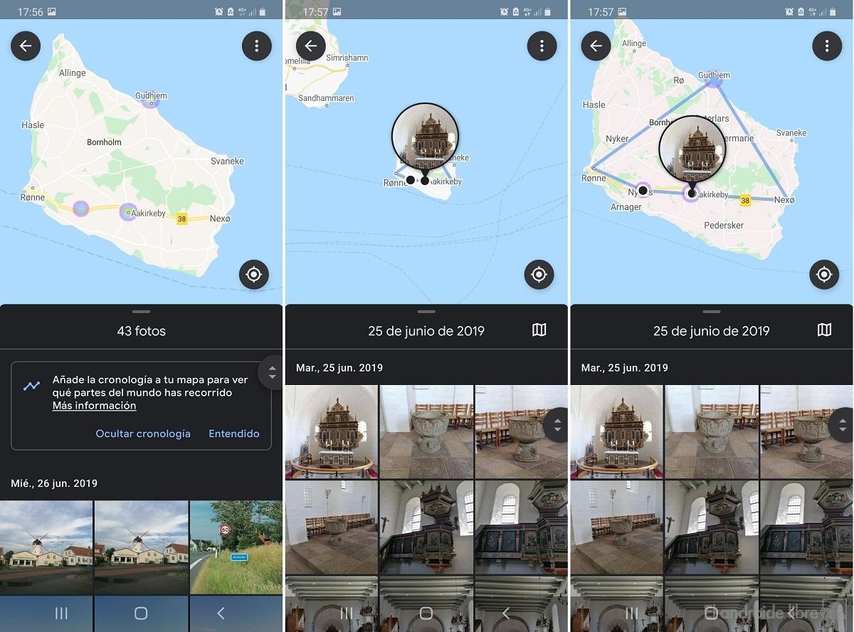 Intégration de Google Photos avec Maps