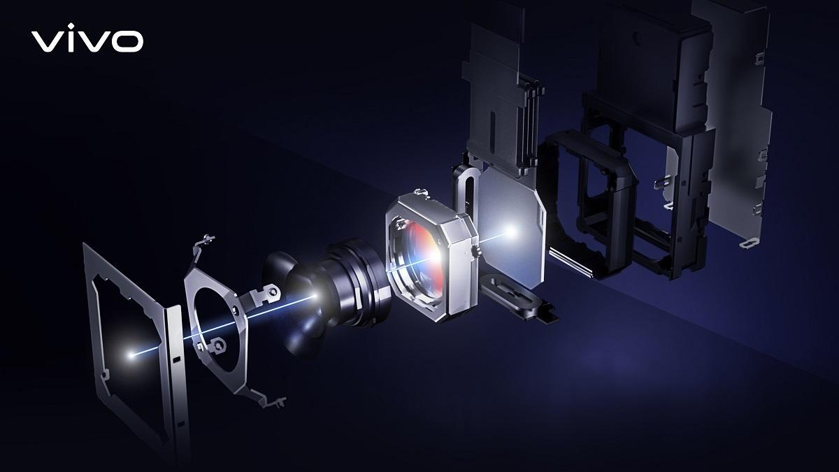Structure du cardan de la caméra Vivo X51