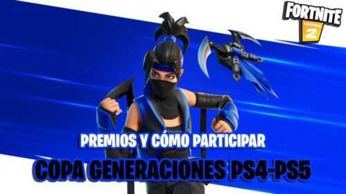 Fortnite Generations Cup sur PS4 et PS5: date, prix, comment participer et gagner une PS5