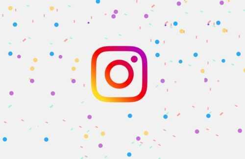 Anniversaire Instagram
