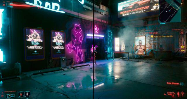 Cyberpunk 2077: pour pouvoir activer le mode cinématique RTX caché sur PC
