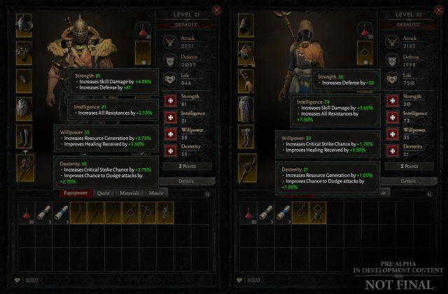 Diablo IV: Blizzard plonge dans les armes, les objets, les statistiques et plus