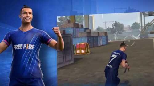 Free Fire: Comment obtenir le skin Cristiano Ronaldo (CR7)