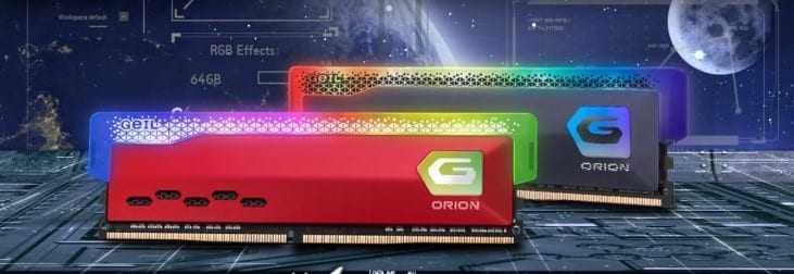 GeIL présente sa mémoire ORION RGB pour les processeurs AMD Ryzen 5000