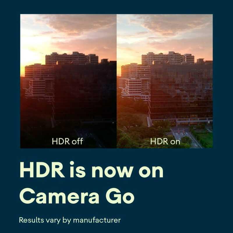 HDR atteint la caméra de Google créée pour les mobiles bon marché