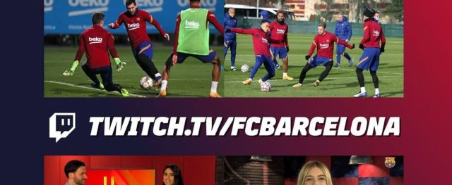 FC Barcelone Twitch