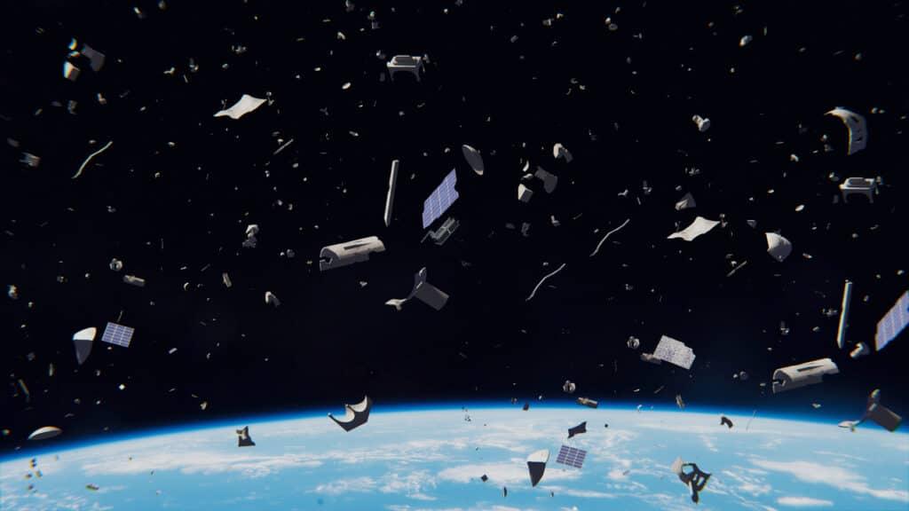 Débris spatiaux
