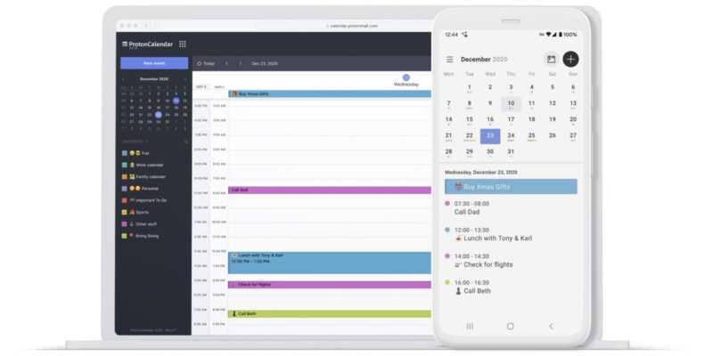 Le calendrier le plus sûr et le plus privé arrive sur Android