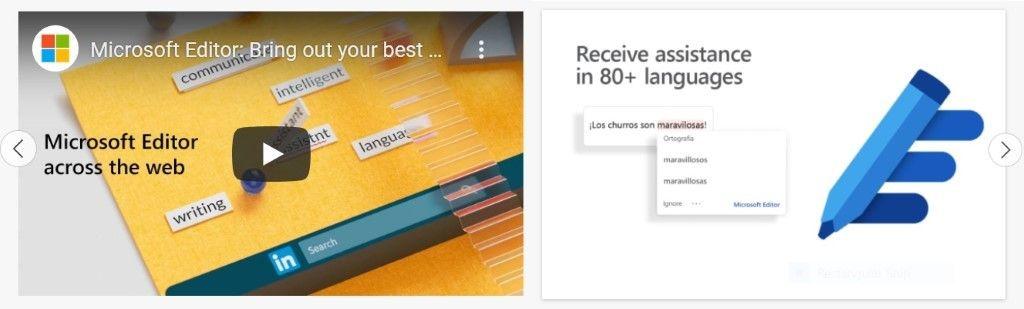 Captures d'écran et vidéos dans le magasin d'extensions Microsoft Edge