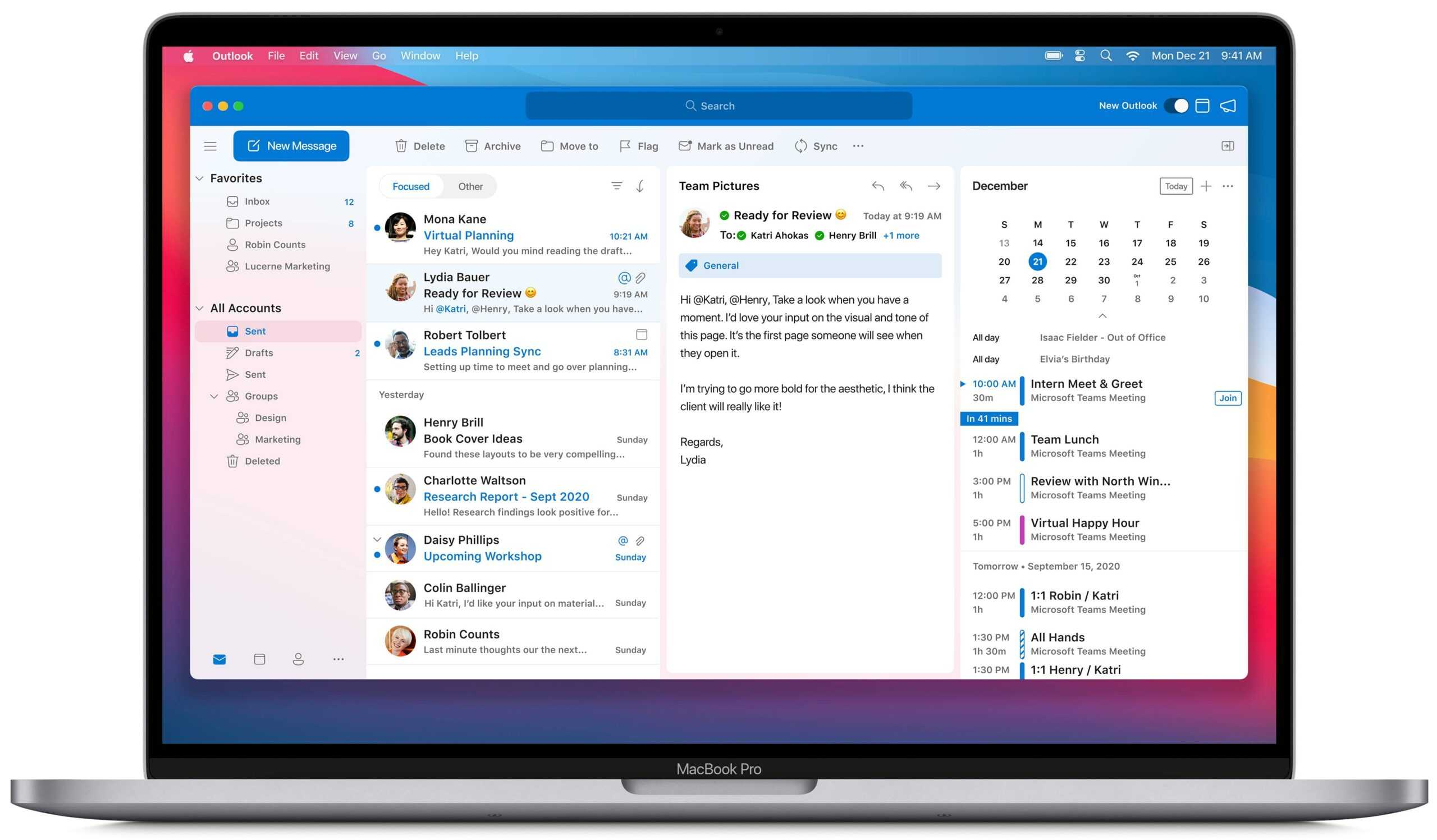 Microsoft One Outlook arrivera sous la forme d'une application Win32 et UWP