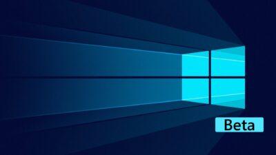Microsoft publie les nouveautés de Windows 10 sur la chaîne bêta Insider