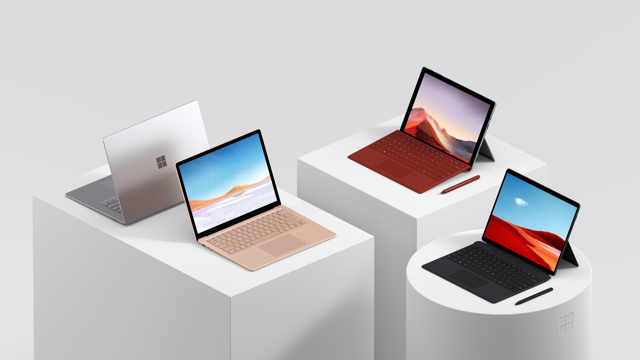 Surface fait partie du pari pour Windows 10