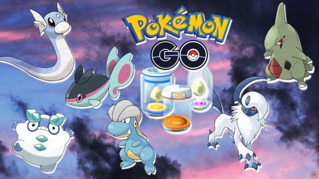 Pokémon GO: tous les œufs de 2, 5, 7, 10 et 12 km (décembre 2020)