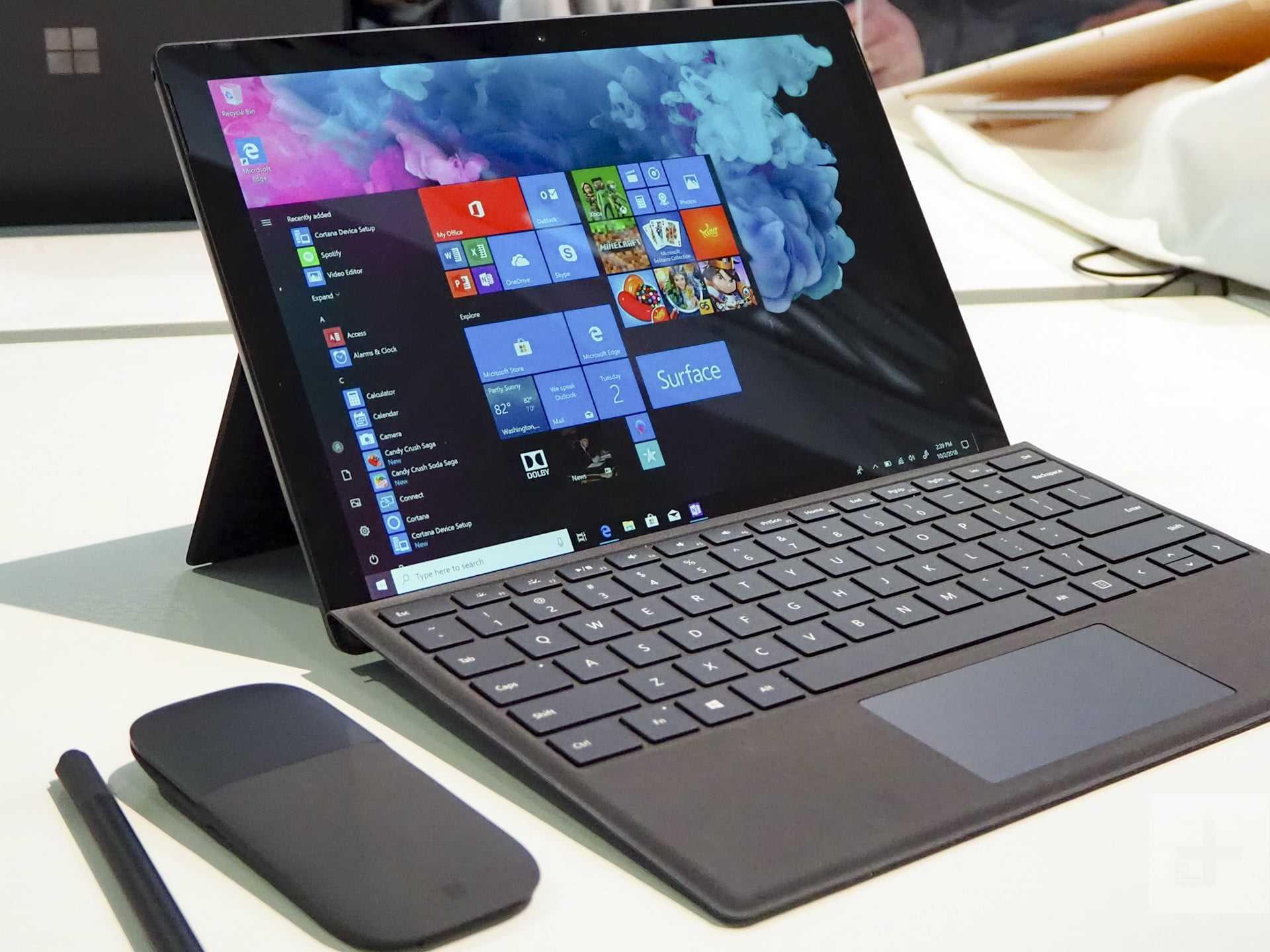 Surface Pro 8 abandonnerait les versions avec Intel Core i3 et 4 Go de RAM