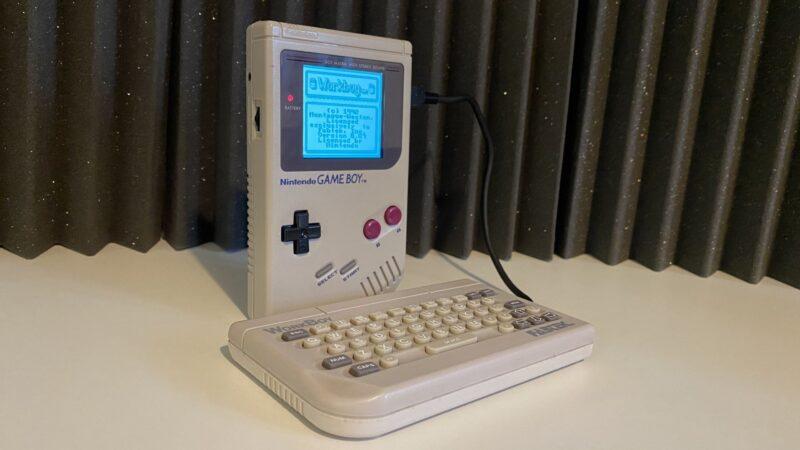Workboy Le Prototype Qui A Transformé La Nintendo Game Boy En Pda