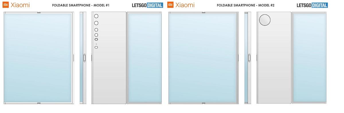 Brevets de pliage Xiaomi