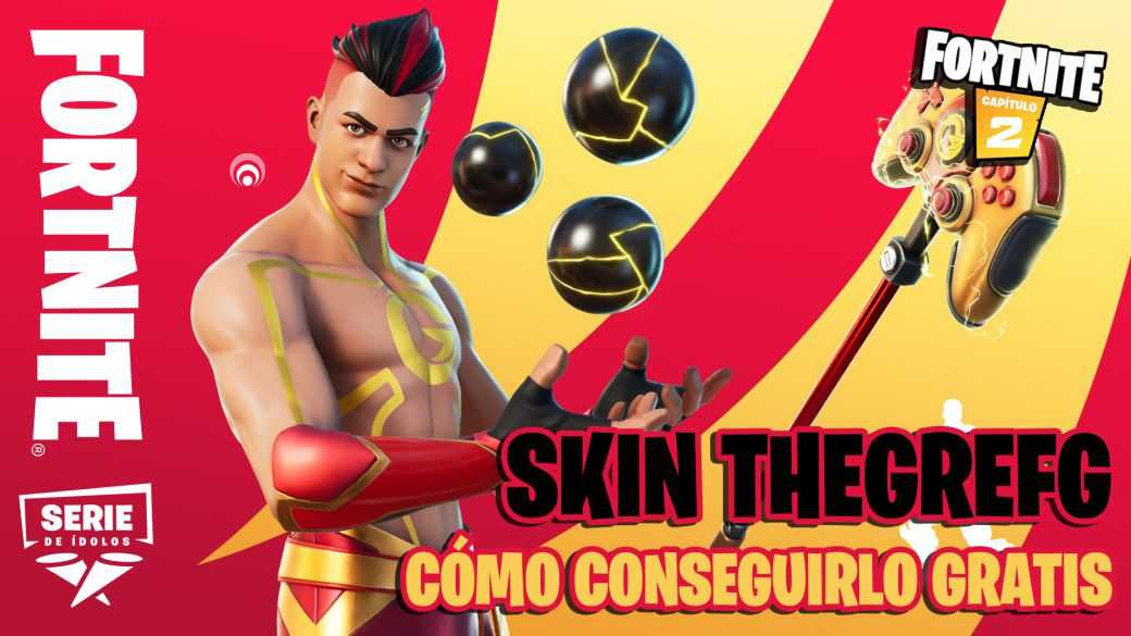 Fortnite: comment obtenir le skin TheGrefg gratuitement