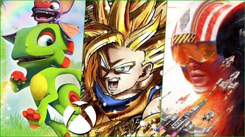 Week-end gratuit sur Xbox: Dragon Ball FighterZ, Star Wars Squadrons et Yooka-Laylee