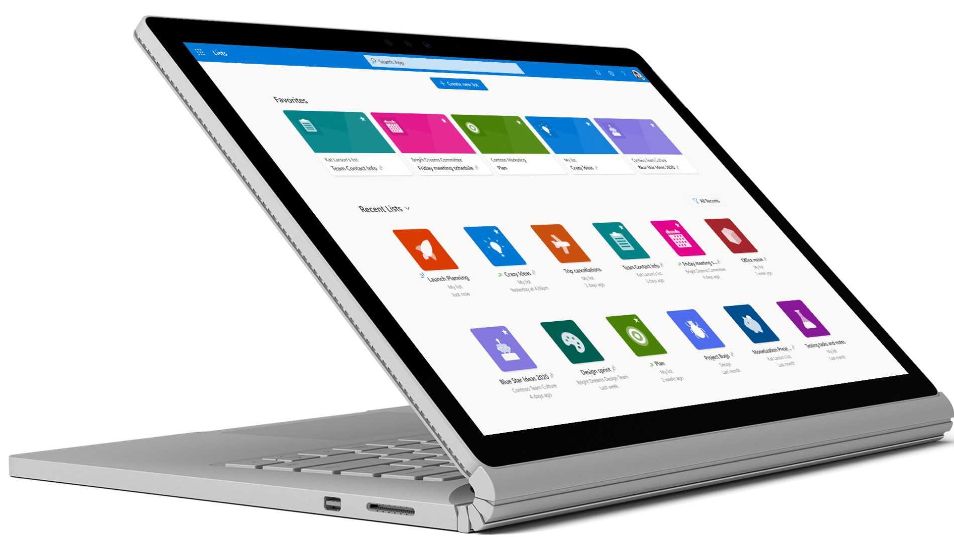 Listes Microsoft pour iOS maintenant disponibles