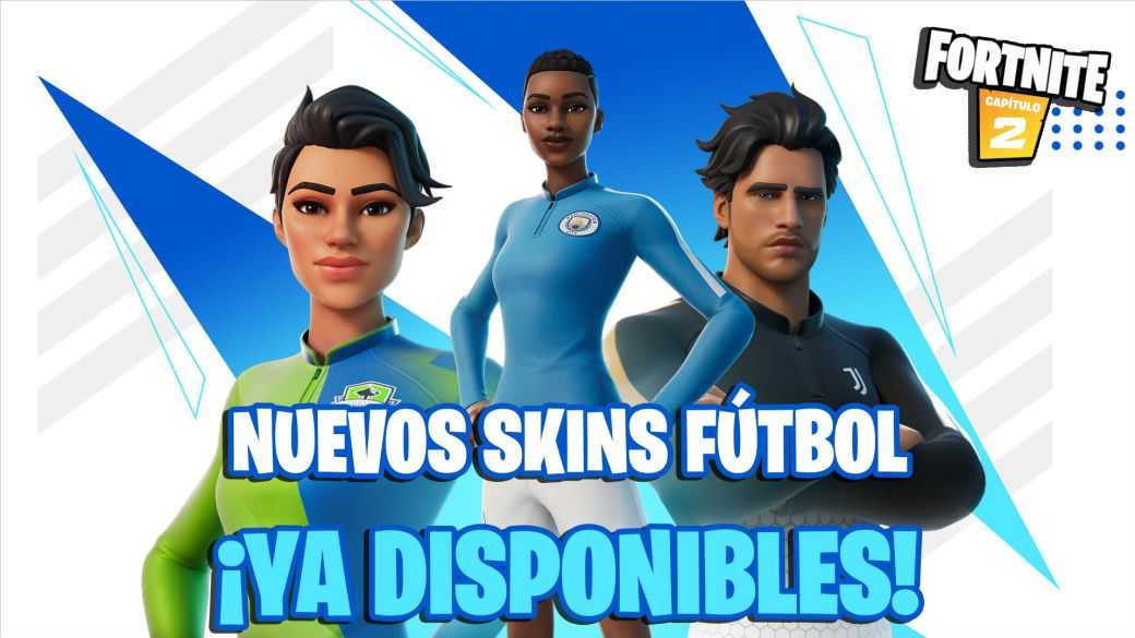 Fortnite: Skins de football de club réel et émote Pelé maintenant disponibles