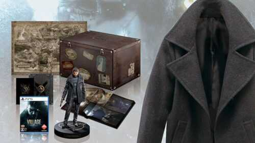 Il s'agit de l'édition collector exclusive Z Version à 1500 euros de Resident Evil Village