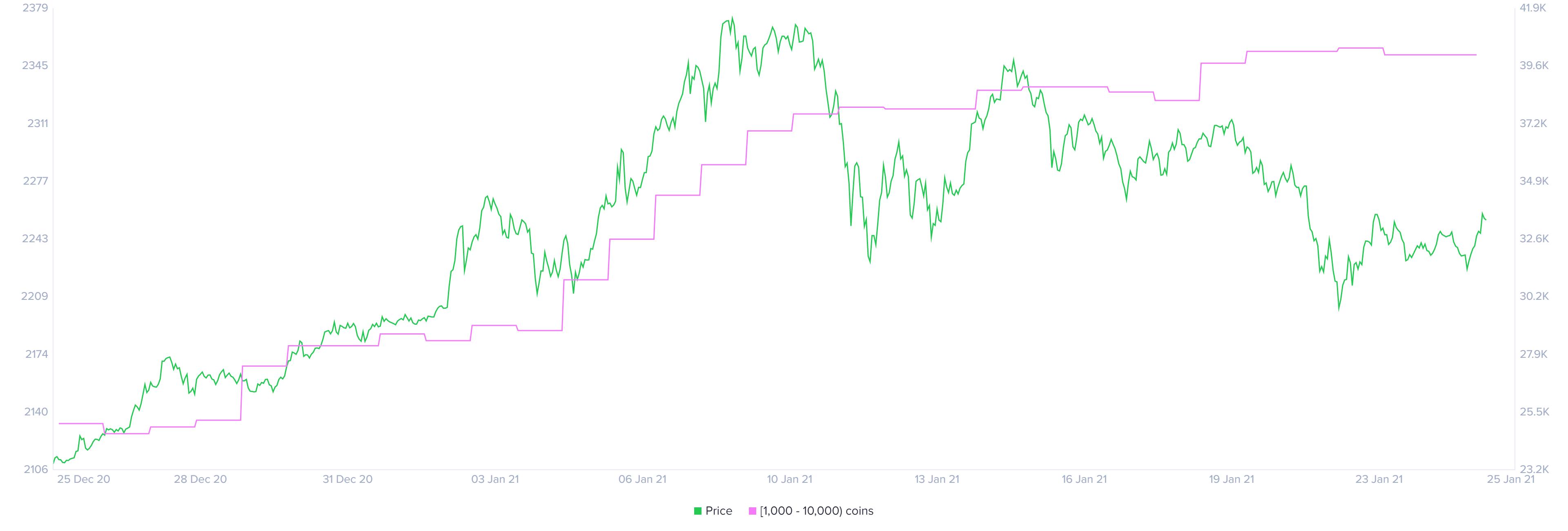 Distribution des détenteurs de Bitcoin