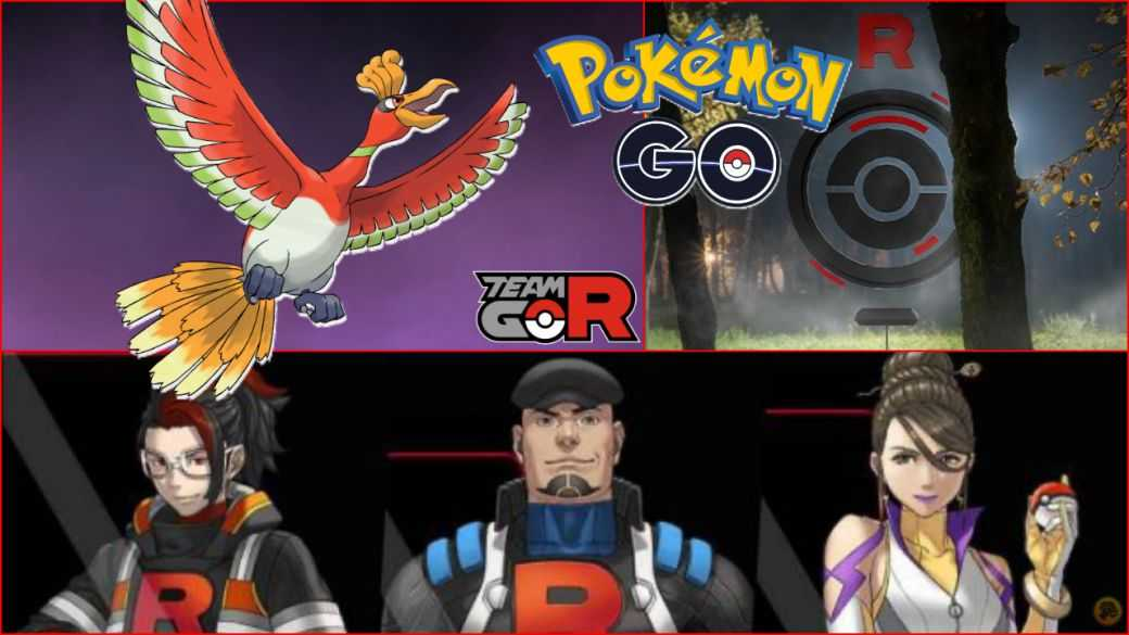 Pokémon GO - Team GO Rocket Event (Johto): missions, récompenses et Ho-Oh