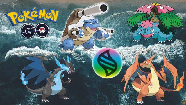 Pokémon GO |  Comment battre Mega Charizard X / Y, Blastoise et Venusaur