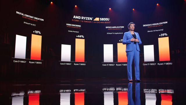 CES 2021: AMD présente Ryzen 5000 Series pour les ordinateurs portables