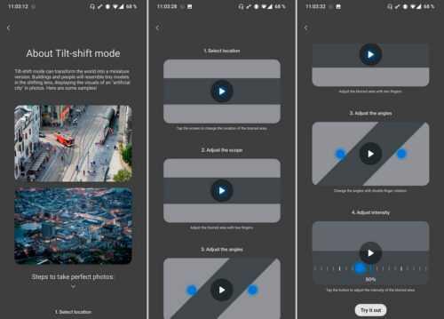Ce seront les nouvelles fonctions de l'application appareil photo OnePlus