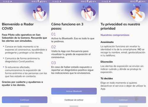 Échecs de l'application radar COVID-19: Google enquête