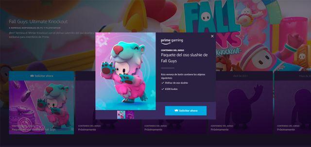 Fall Guys: Comment obtenir des récompenses Prime Gaming et le pack Slushie Bear