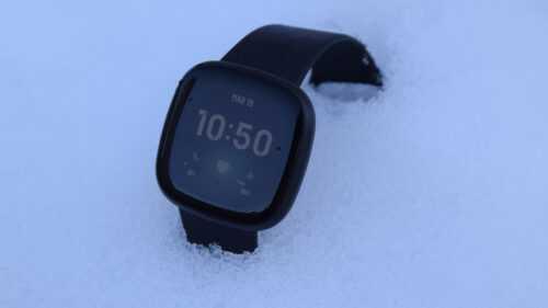 Fitbit Versa 3, déballage et premières impressions