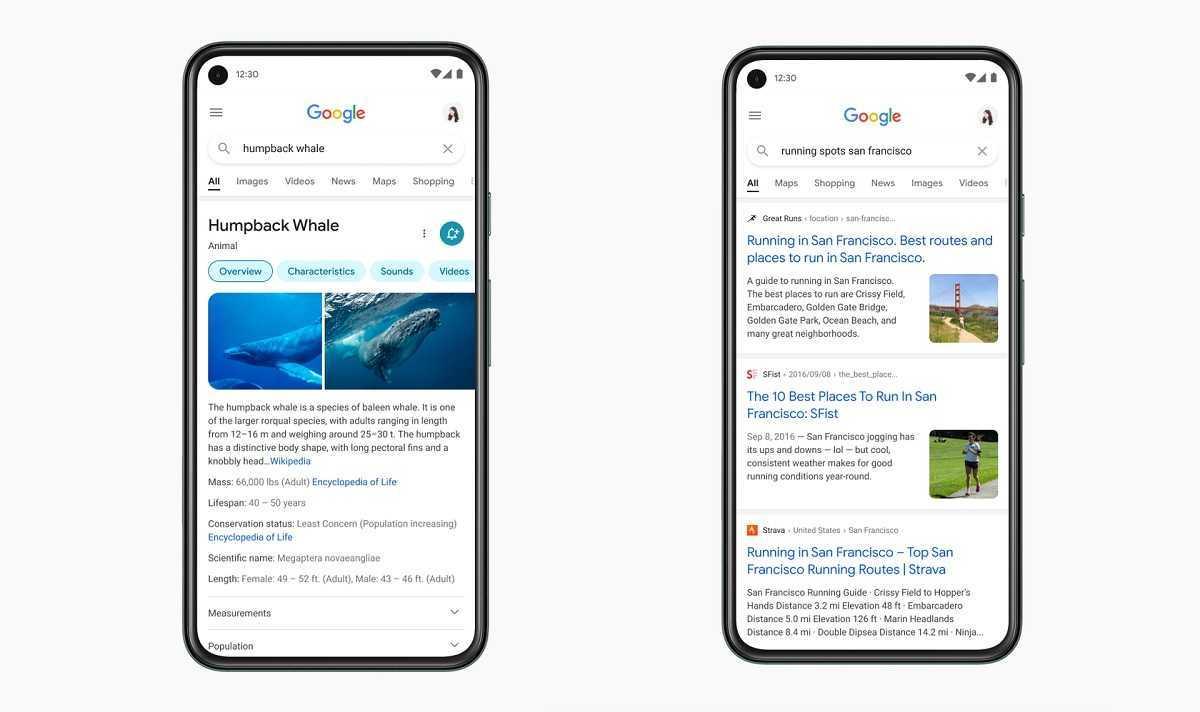 Google repense son moteur de recherche sur Android pour faciliter les recherches